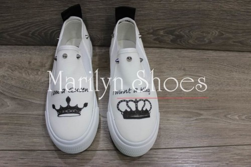 Slip on king e queen Limited Edition